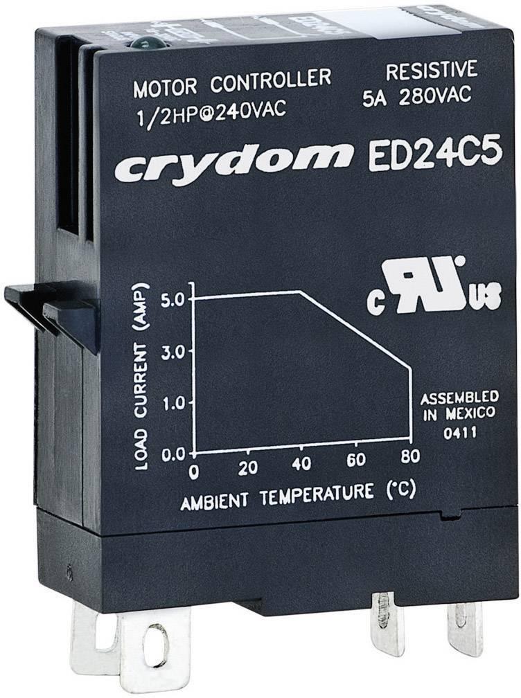 Zásuvné polovodičové relé Crydom, ED24C5, 5 A