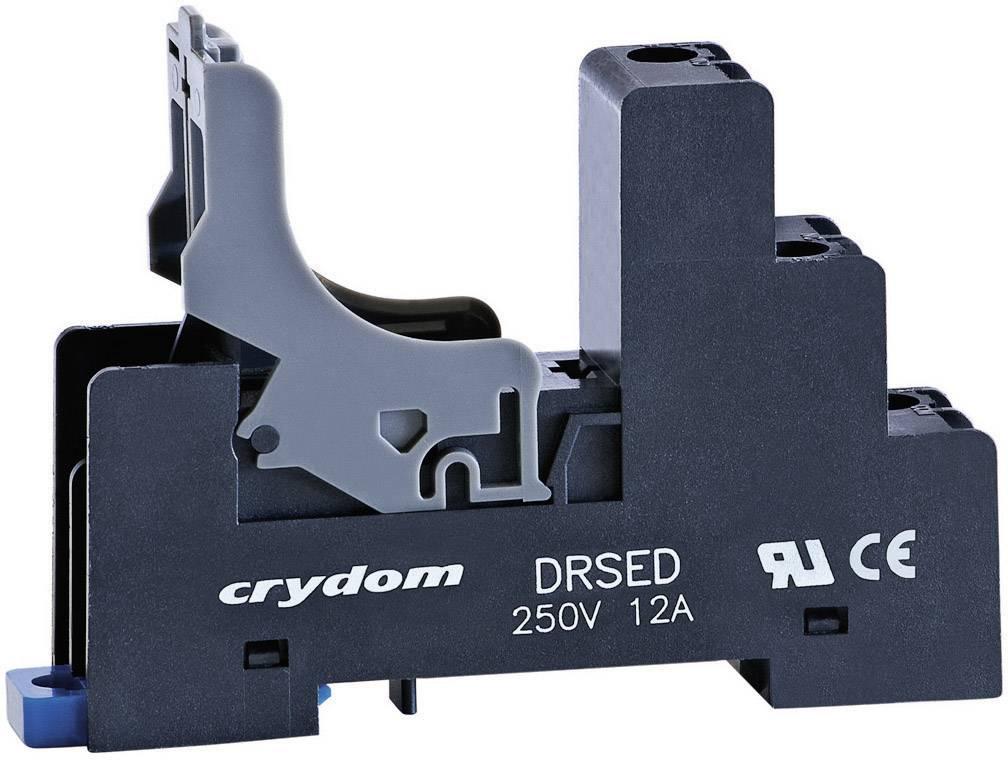 Patice do DIN lišty pro polovodičové relé série ED Crydom DRSED, 12 A 250 V DC/AC, 1 ks