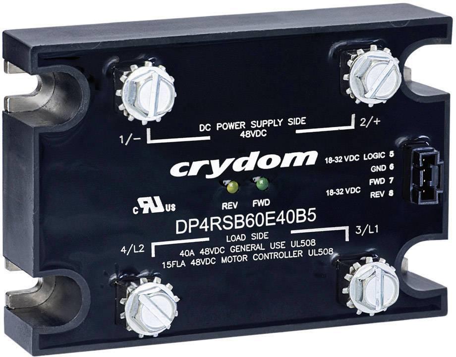 Motorový stykač Crydom DP4R60D60 DP4R60D60, 60 A, 1 ks