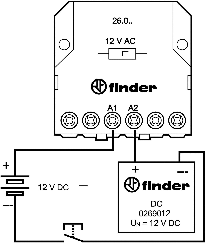 DC adaptér pro série 26 Finder 026.9.012