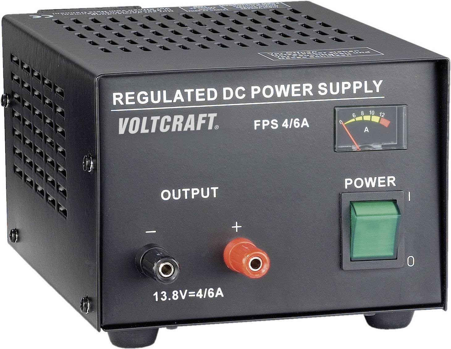 Sieťový zdroj so stabilným napätím Voltcraft FSP-1134 13.8 V/DC, 4 A, 55 W