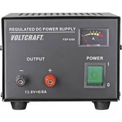 Síťový zdroj se stabilním napětím Voltcraft FSP-1136 13 .8 V/DC, 6 A, 85 W