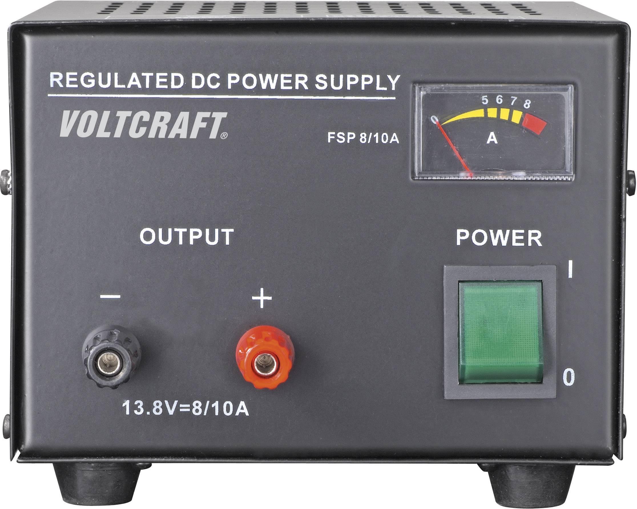 Sieťový zdroj so stabilným napätím Voltcraft FSP-1138 13.8 V/DC, 8 A, 110 W