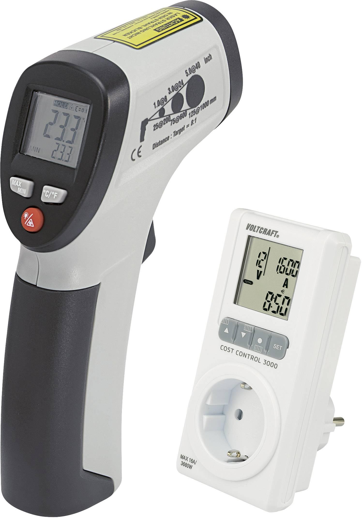 IČ teplomer IR 260-8S a Cost Control 3000 LCD