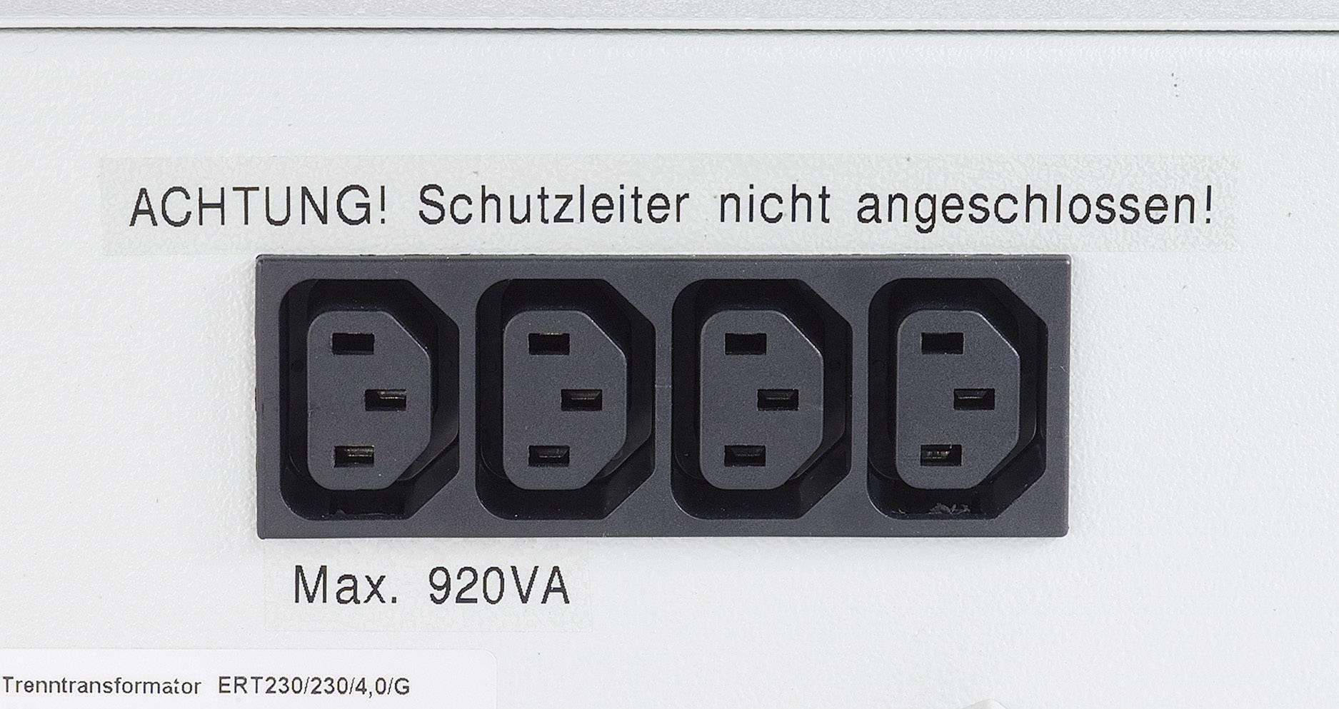 Lékařský oddělovací transformátor Thalheimer ERT 230/230/4G