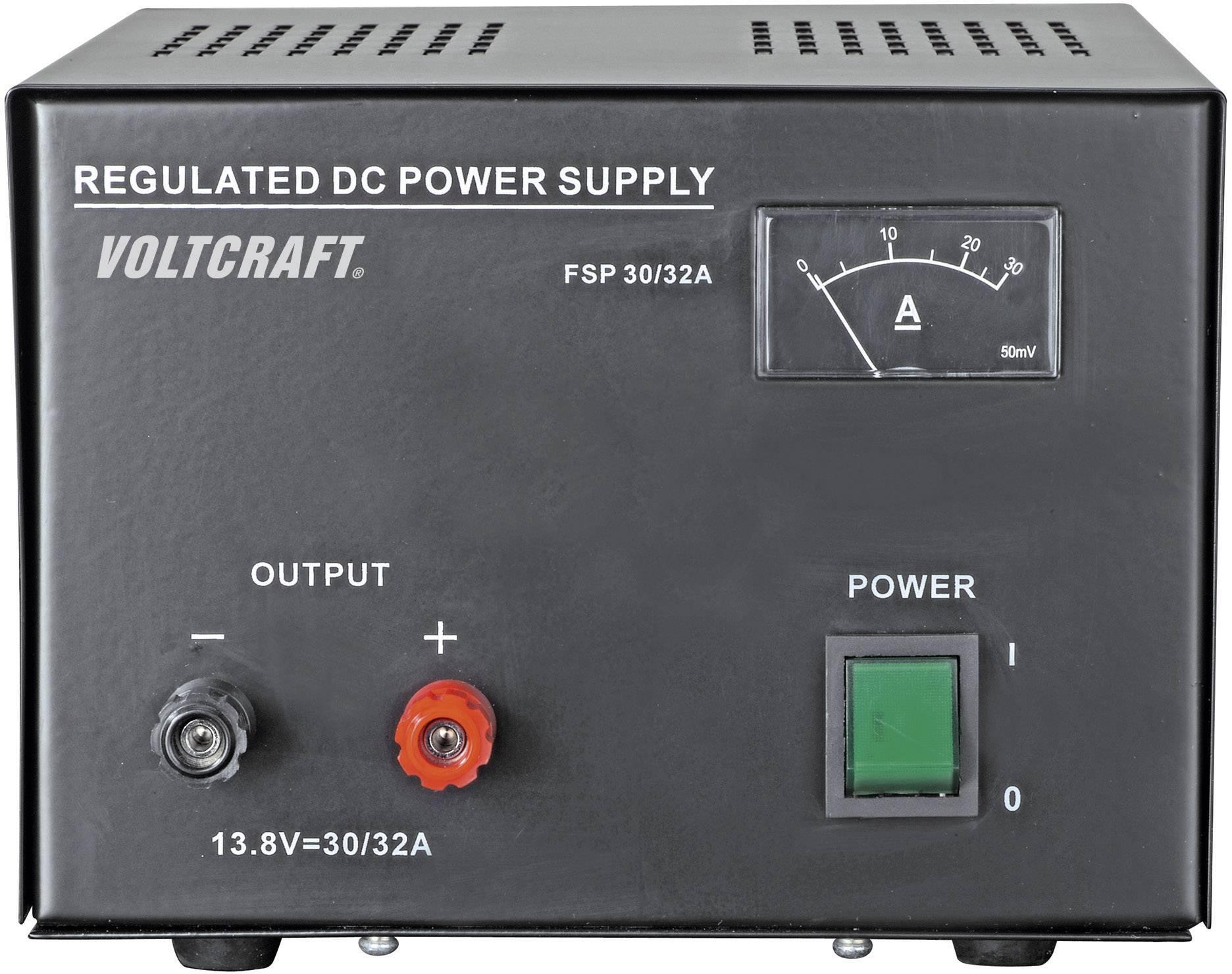 Laboratórny sieťový zdroj Voltcraft FSP-11330, 13.8 VDC, 30 A