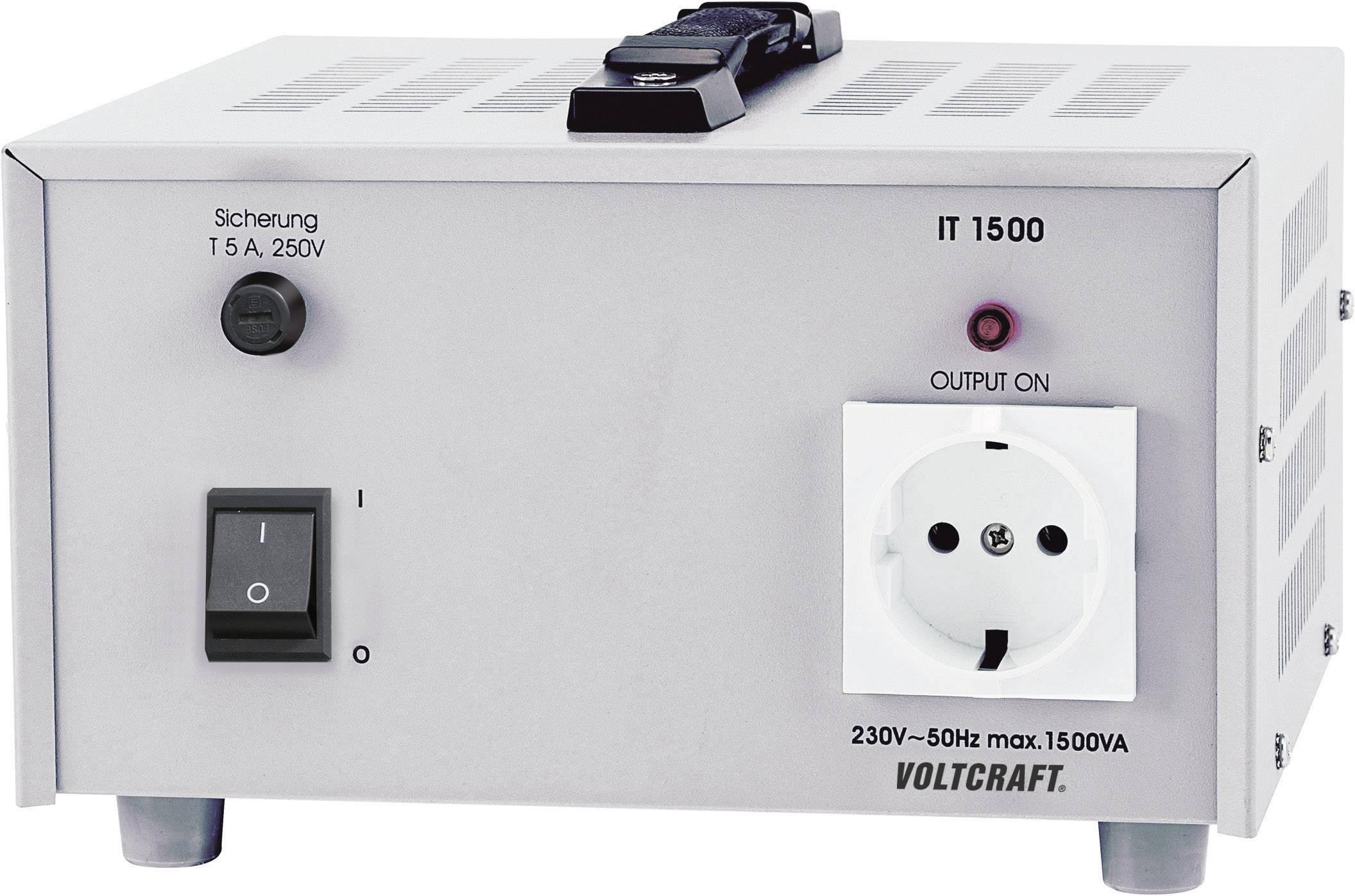 Oddeľovací transformátor IT-1500