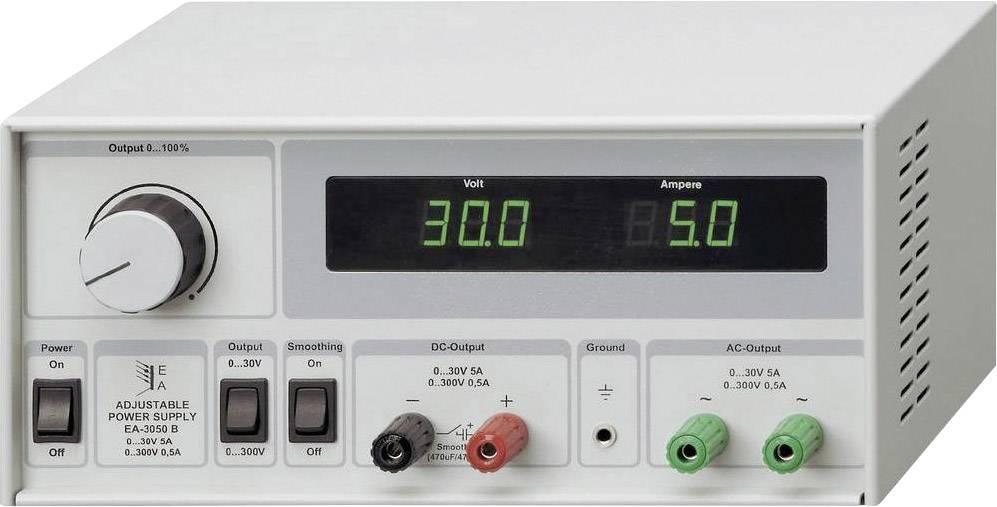 Univerzálny sieťový zdroj EA-3050B, 0 - 30 V, 5 A