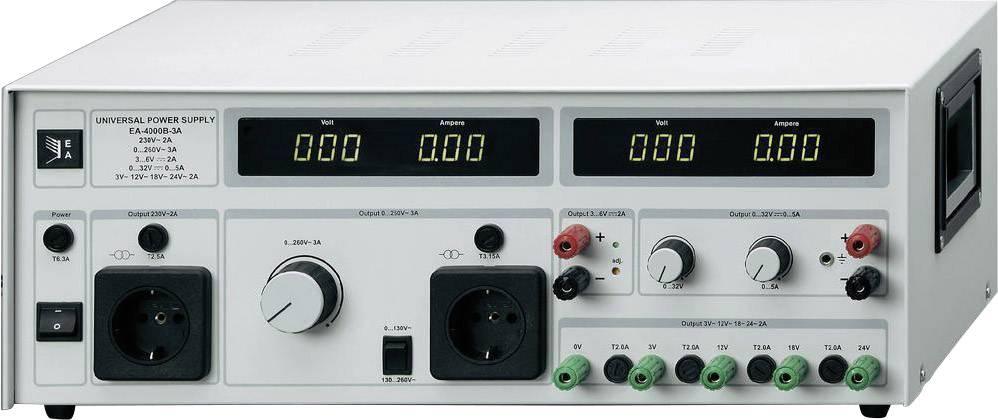 Univerzálny sieťový zdroj EA-4000B-3, 0 - 260 VAC, 3 A