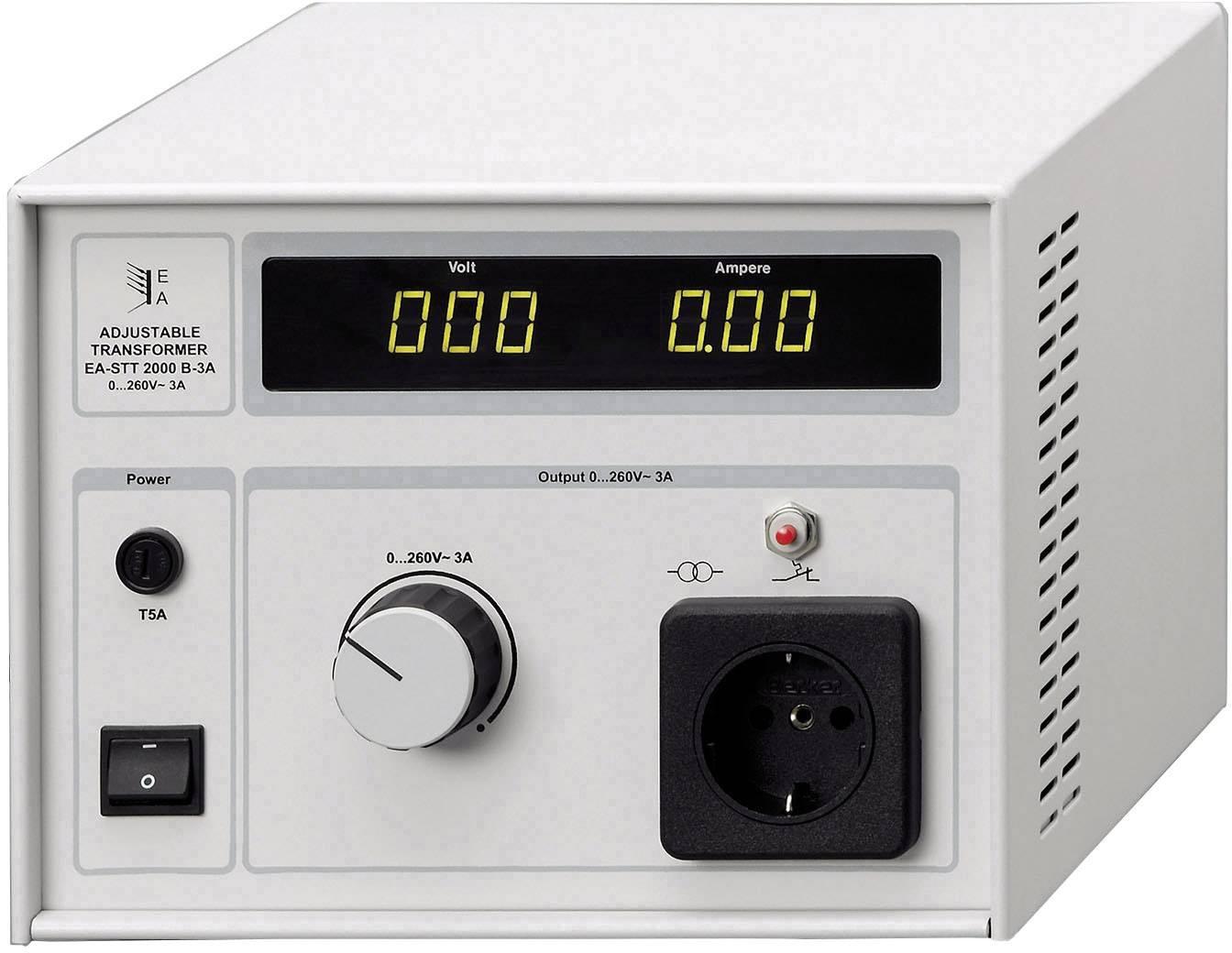 Lineární laboratorní sítový zdroj EA_STT 2000B 3.0, 780 W , 3 A, 0 - 260 V/AC