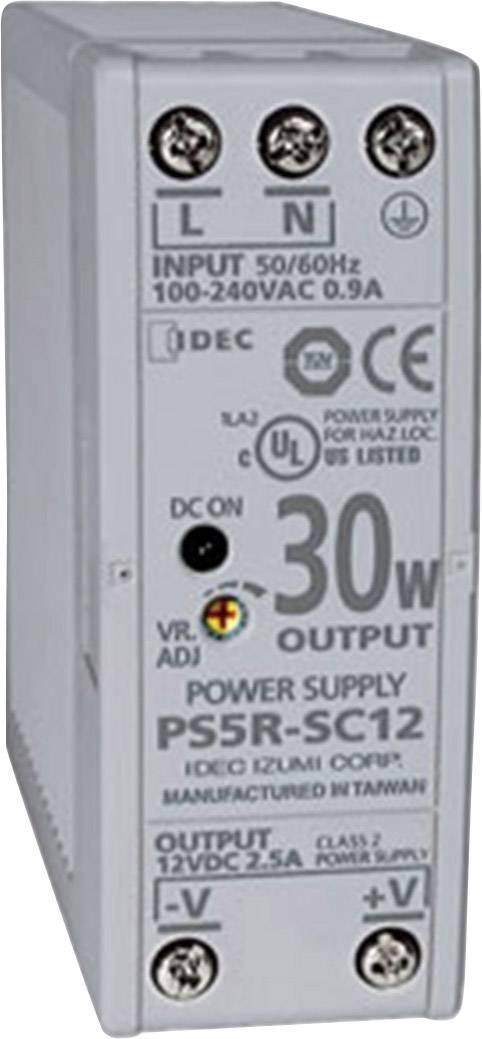 Zdroj na DIN lištu Idec PS5R-SC24, 1,25 A, 24 V/DC