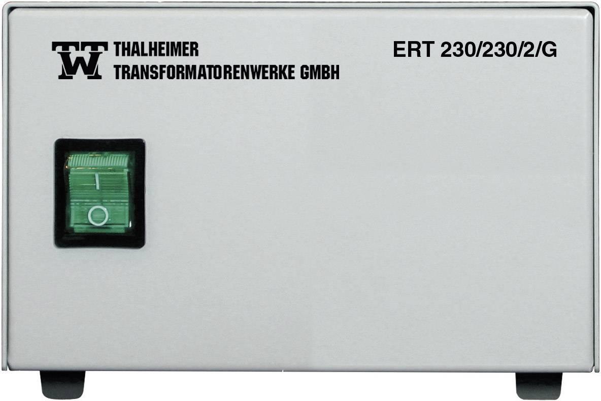 Lékařský oddělovací transformátor Thalheimer ERT 230/230/1G, 230 VA, 230 V/AC