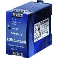 Zdroj na DIN lištu TDK-Lambda DPP50-24, 24 V/DC, 2,1 A