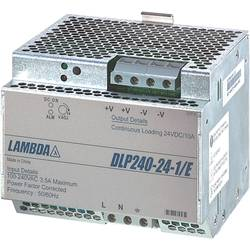 Zdroj na DIN lištu TDK-Lambda DLP-240-24-1/E, 10 A, 24 V/DC