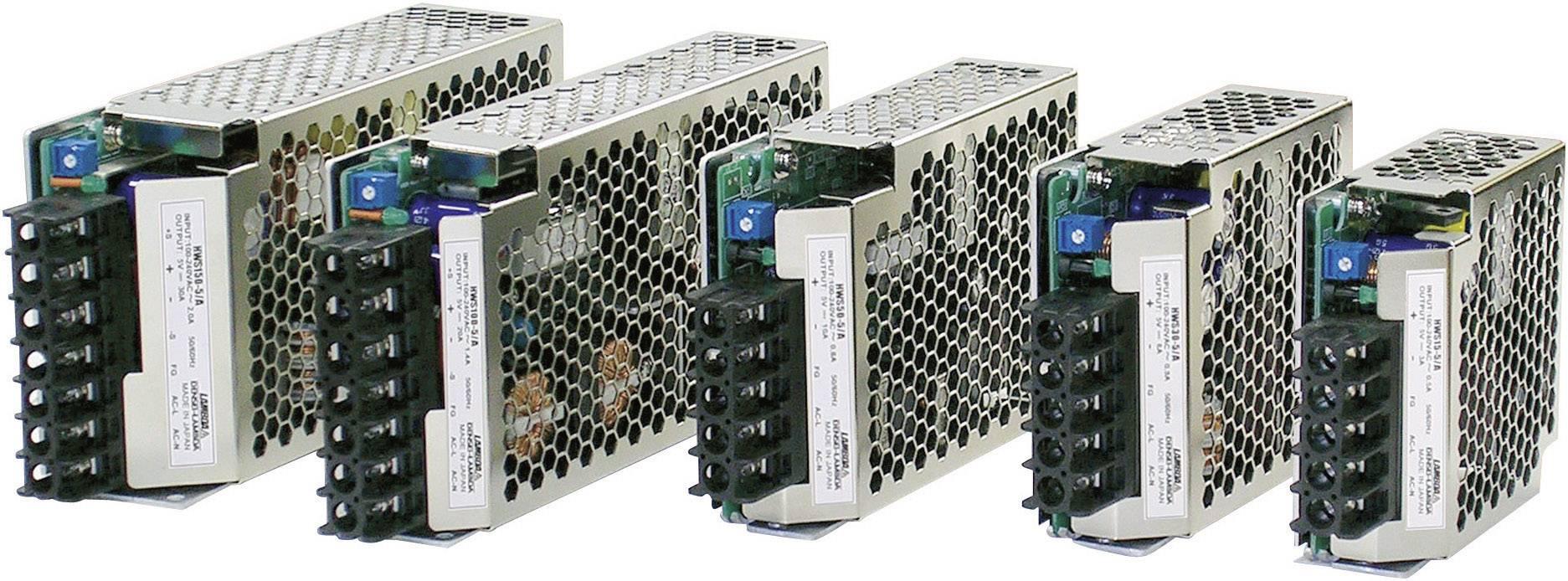 AC / DC zabudovateľný zdroj TDK-Lambda HWS-150A-5 / ME, open frame 5 V / DC, 150 W