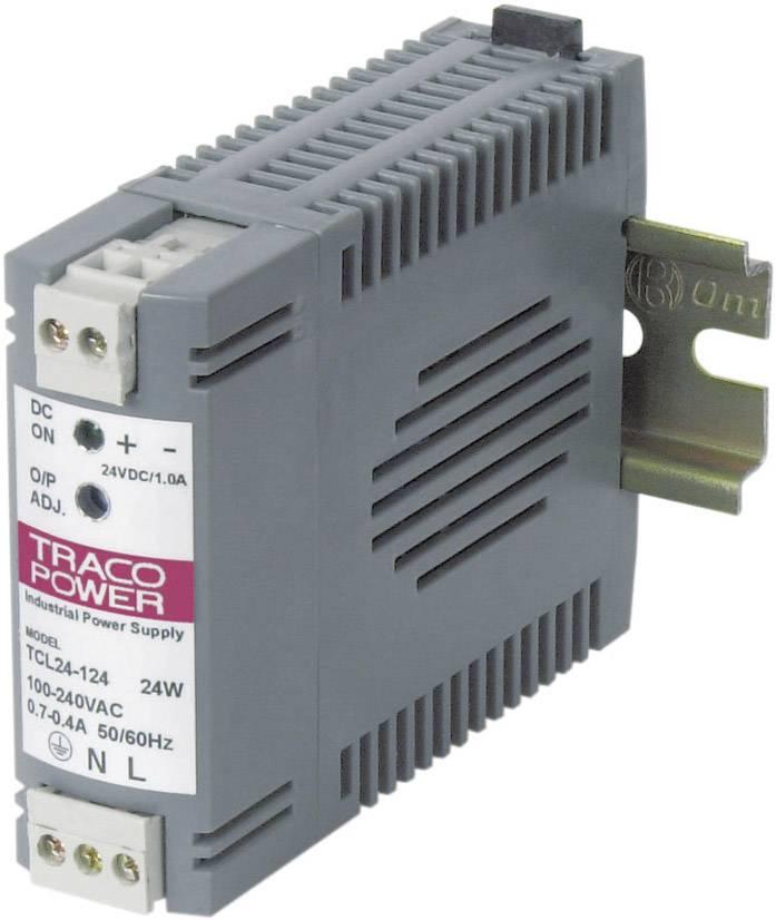 Zdroj na DIN lištu TracoPower TCL 024-105, 5 V/DC, 4 A