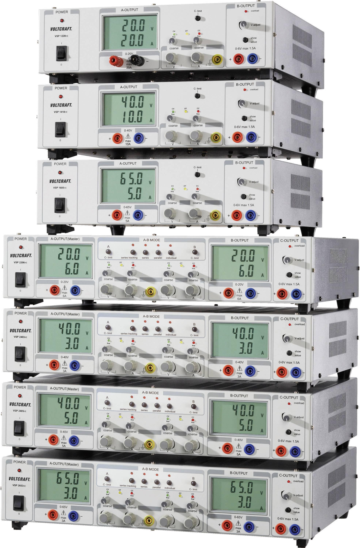 Laboratórny sieťový zdroj Voltcraft VSP-1410, 0.1 - 40 VDC, 0 - 10 A