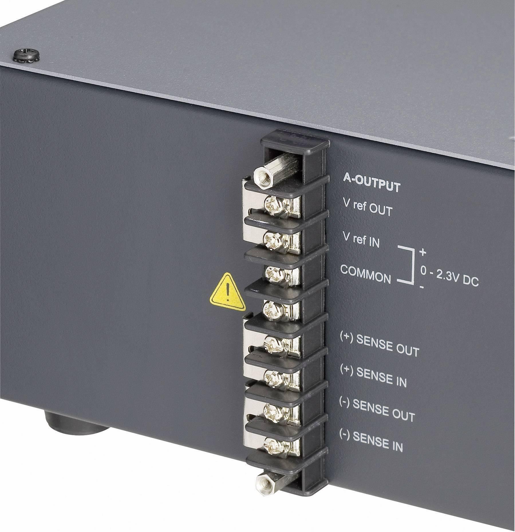 Laboratórny sieťový zdroj Voltcraft VSP-1220, 0.1 - 20 VDC, 0 - 20 A