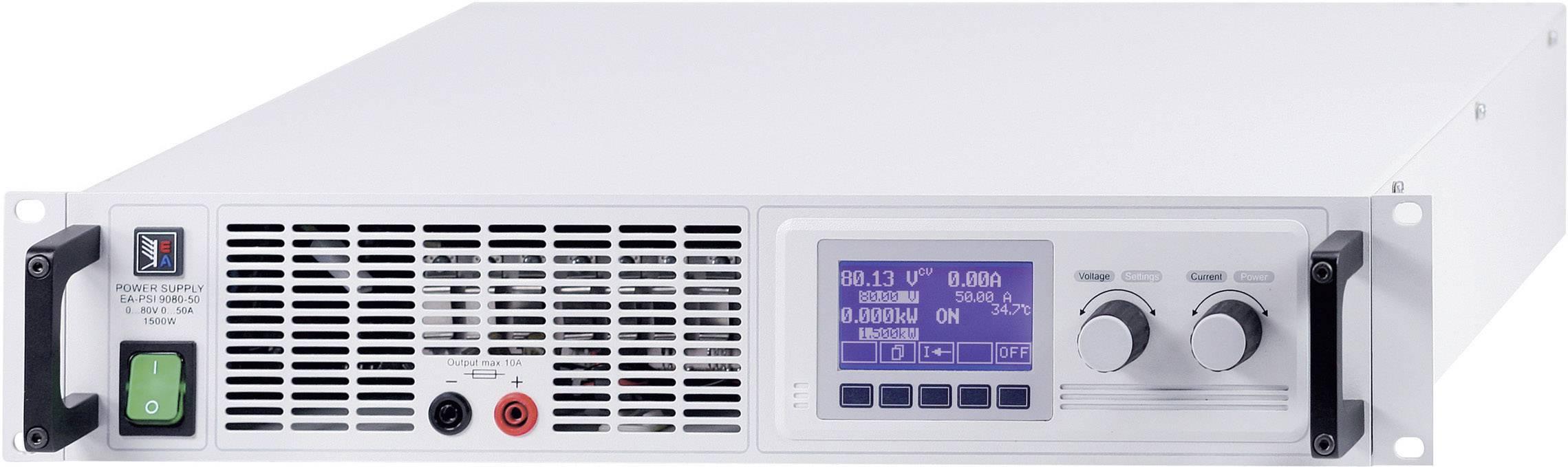 Elektronická záťaž EA - EL 9080-200 A, 1500 W