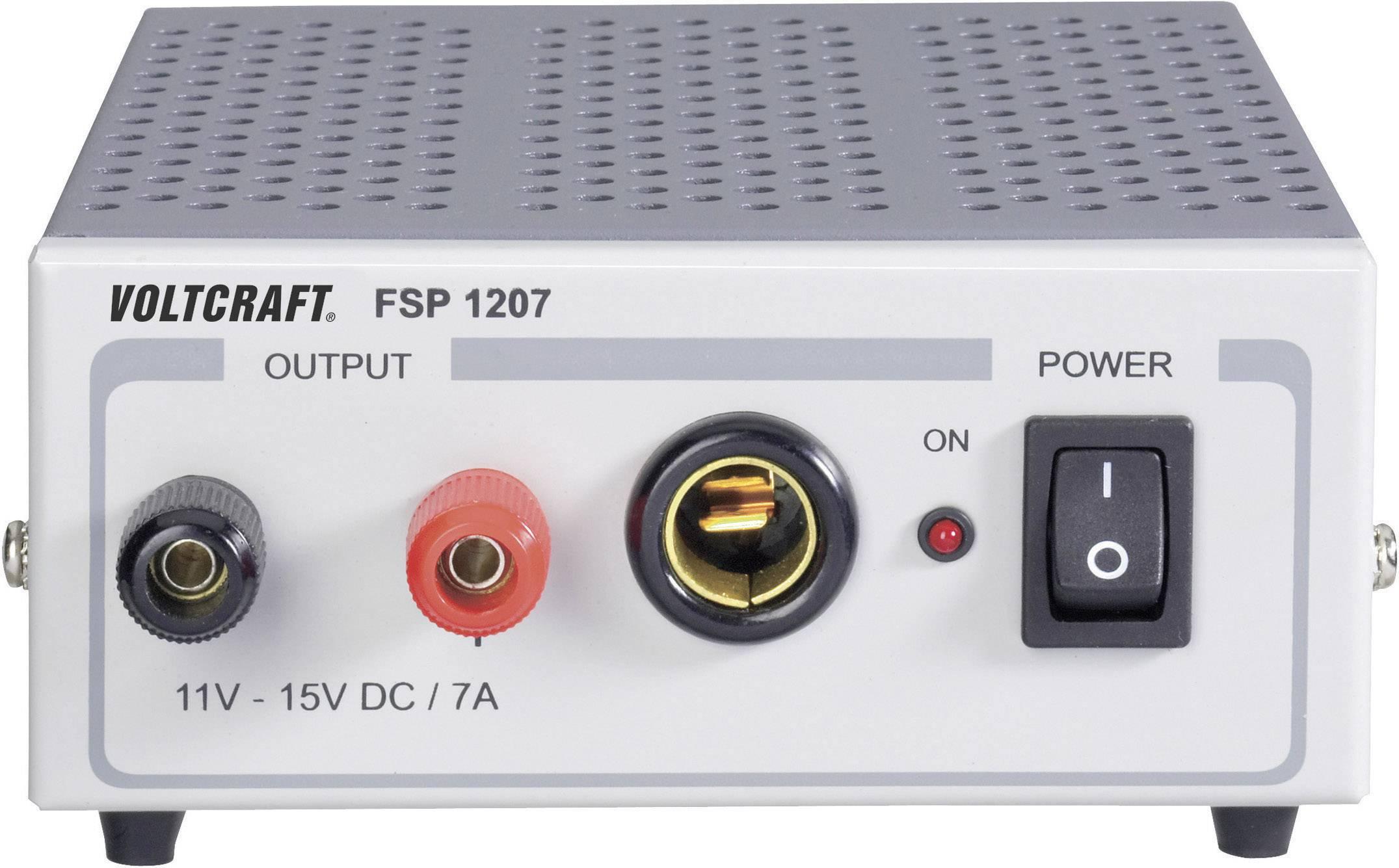 Laboratórny zdroj s pevným napätím VOLTCRAFT FSP 1207, 11 - 15 V/DC, 105 W, 7 A