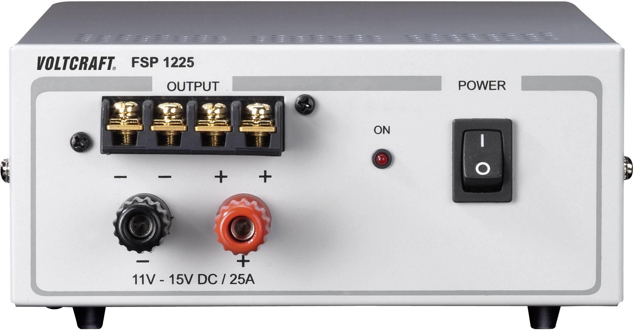 Laboratórny zdroj s pevným napätím VOLTCRAFT FSP 1225, 11 - 15 V/DC, 375 W, 25 A