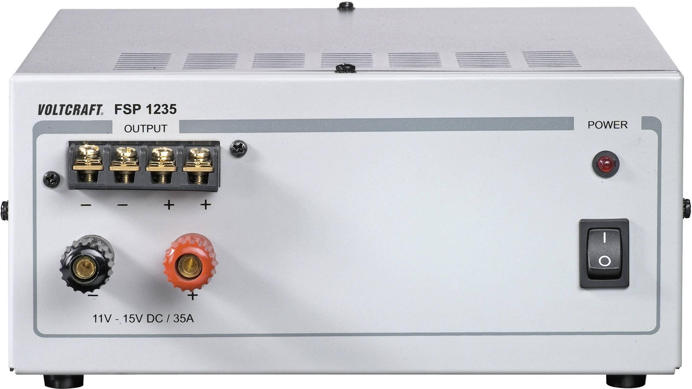 Laboratórny zdroj s pevným napätím VOLTCRAFT FSP 1235, 11 - 15 V/DC, 525 W, 35 A