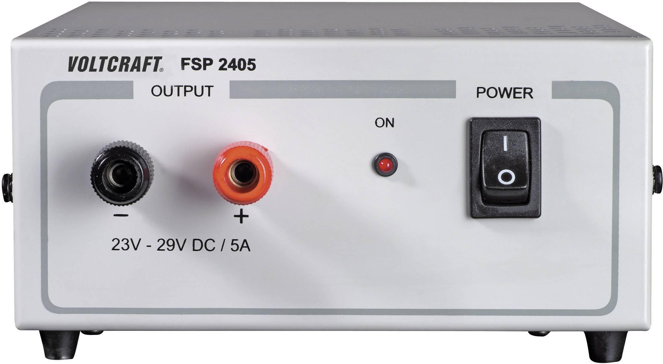 Laboratórny zdroj s pevným napätím VOLTCRAFT FSP 2405, 24 - 29 V/DC, 145 W, 5 A