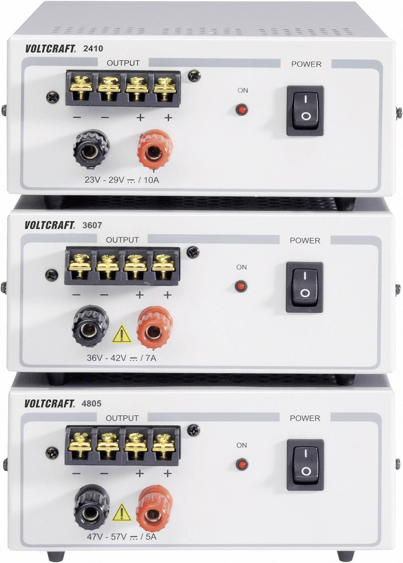 Laboratórny zdroj s pevným napätím VOLTCRAFT FSP 2410, 24 - 29 V/DC, 240 W, 10 A