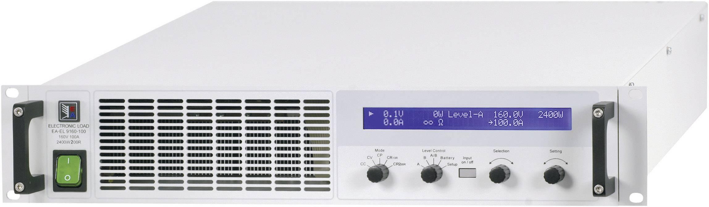 Elektronická zátěž EA 9160-200, 80 V/DC, 200 A, 3000 W