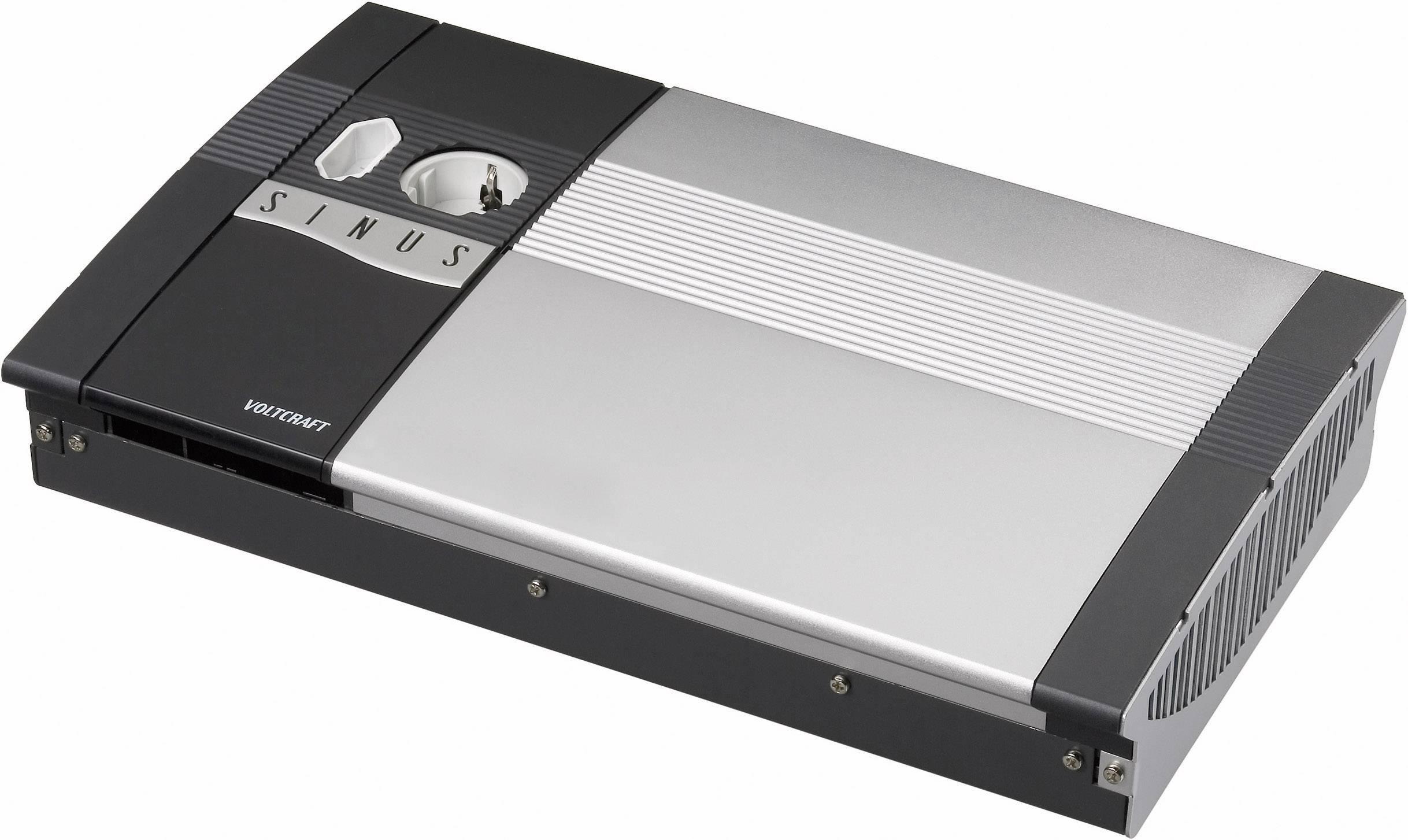Menič napätia DC / AC VOLTCRAFT SW-1200 12V, 1200 W, 12 V/DC/230 V/AC, 1200 W diaľkovo zapínateľný
