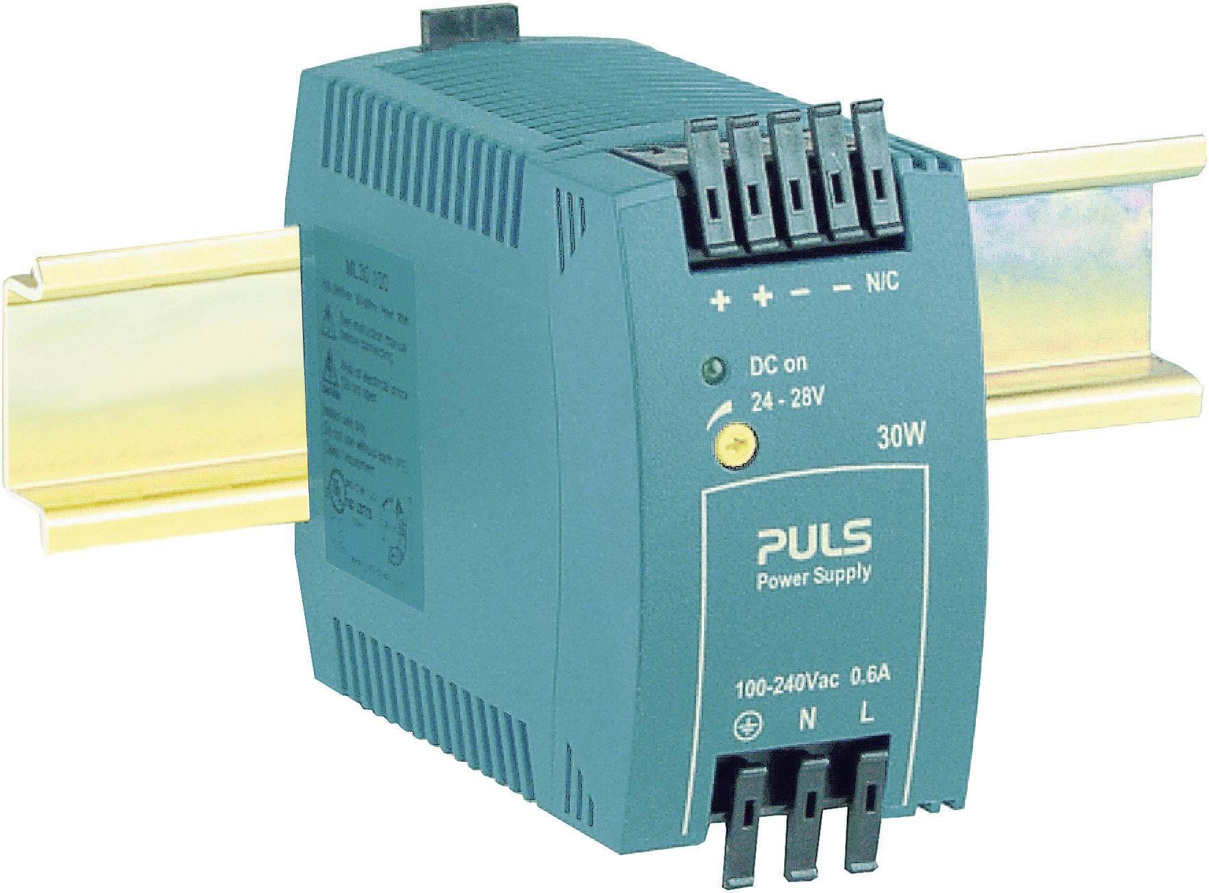 Sieťový zdroj na montážnu lištu (DIN lištu) PULS MiniLine ML30.101, 1 x, 5 V/DC, 5 A, 25 W
