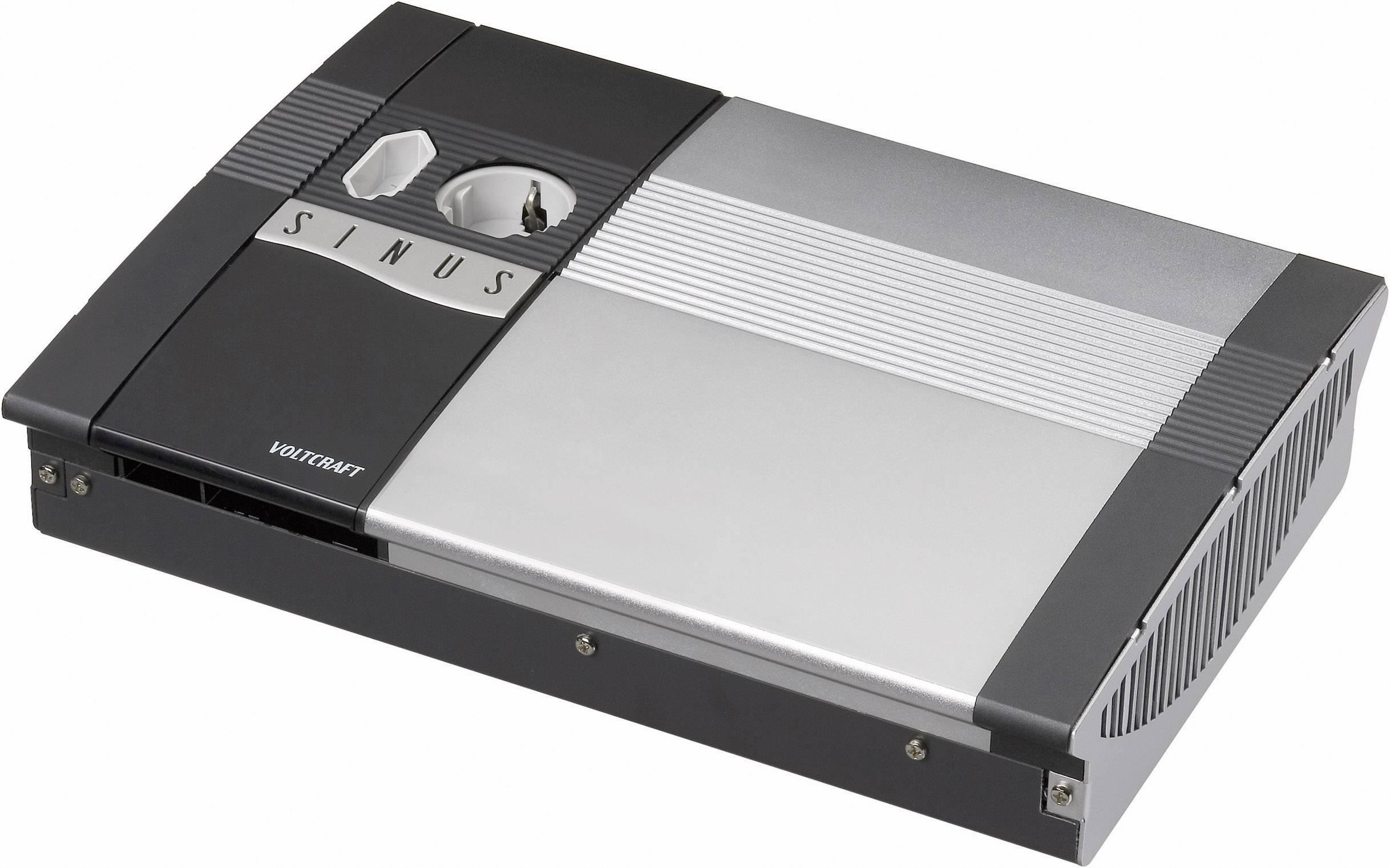 Menič napätia DC / AC VOLTCRAFT SW-600 12V, 600 W, 12 V/DC/230 V/AC, 600 W diaľkovo zapínateľný
