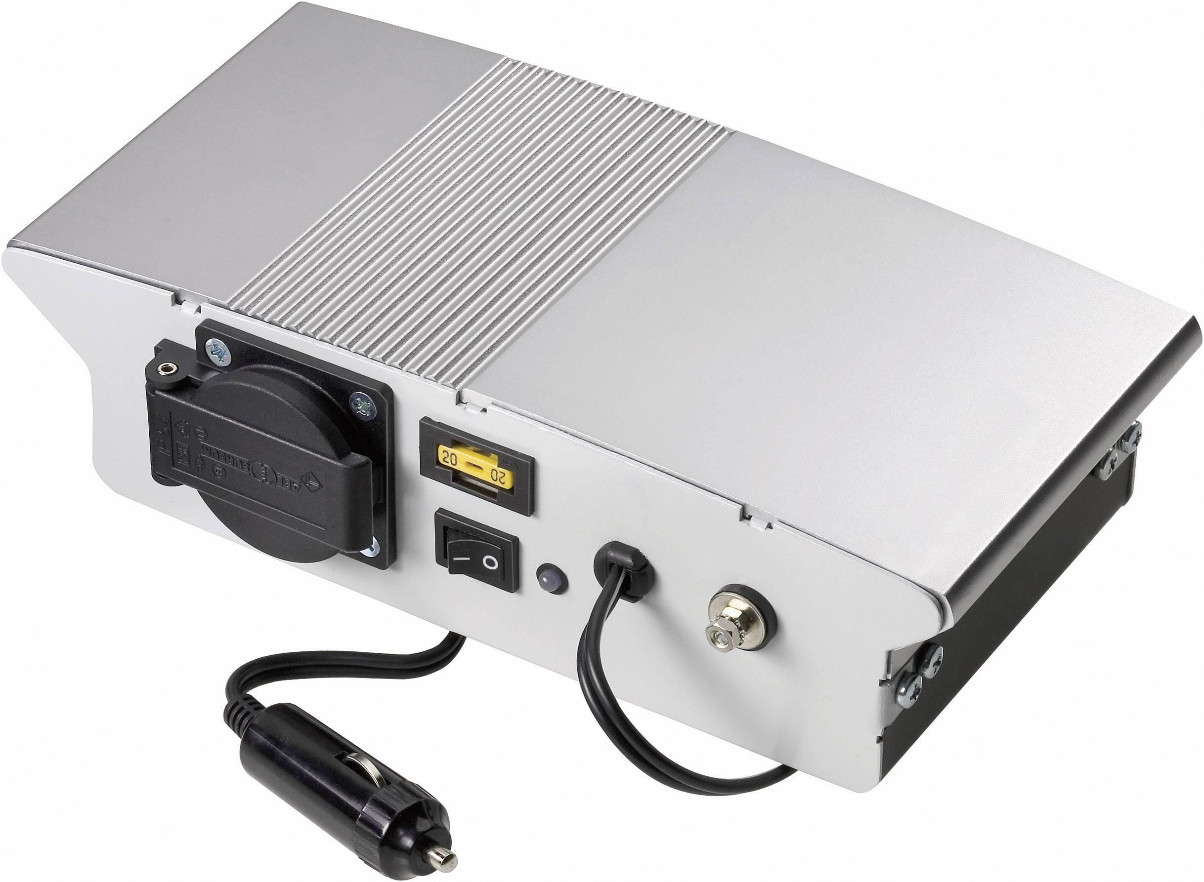Menič napätia DC / AC VOLTCRAFT SW-150 12V, 150 W, 12 V/DC/230 V/AC, 150 W bez ventilátorov
