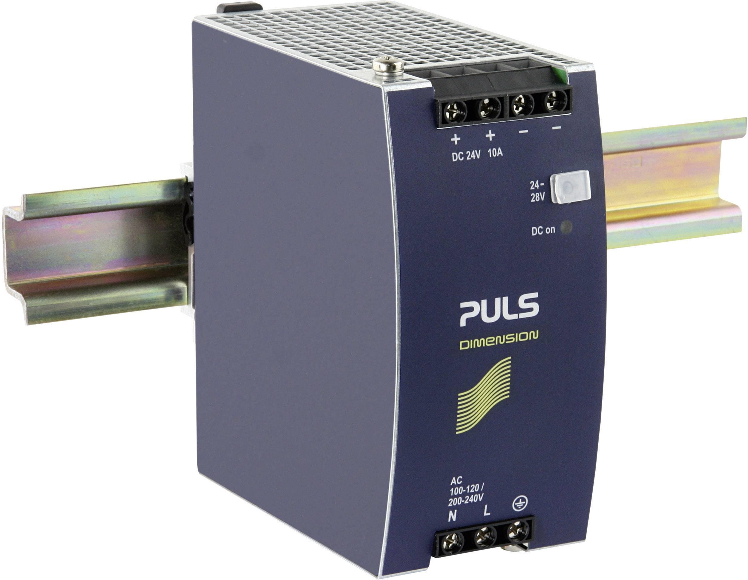 Napájecí zdroj na DIN lištu PULS Dimension CS10.241, 10 A, 24 V/DC