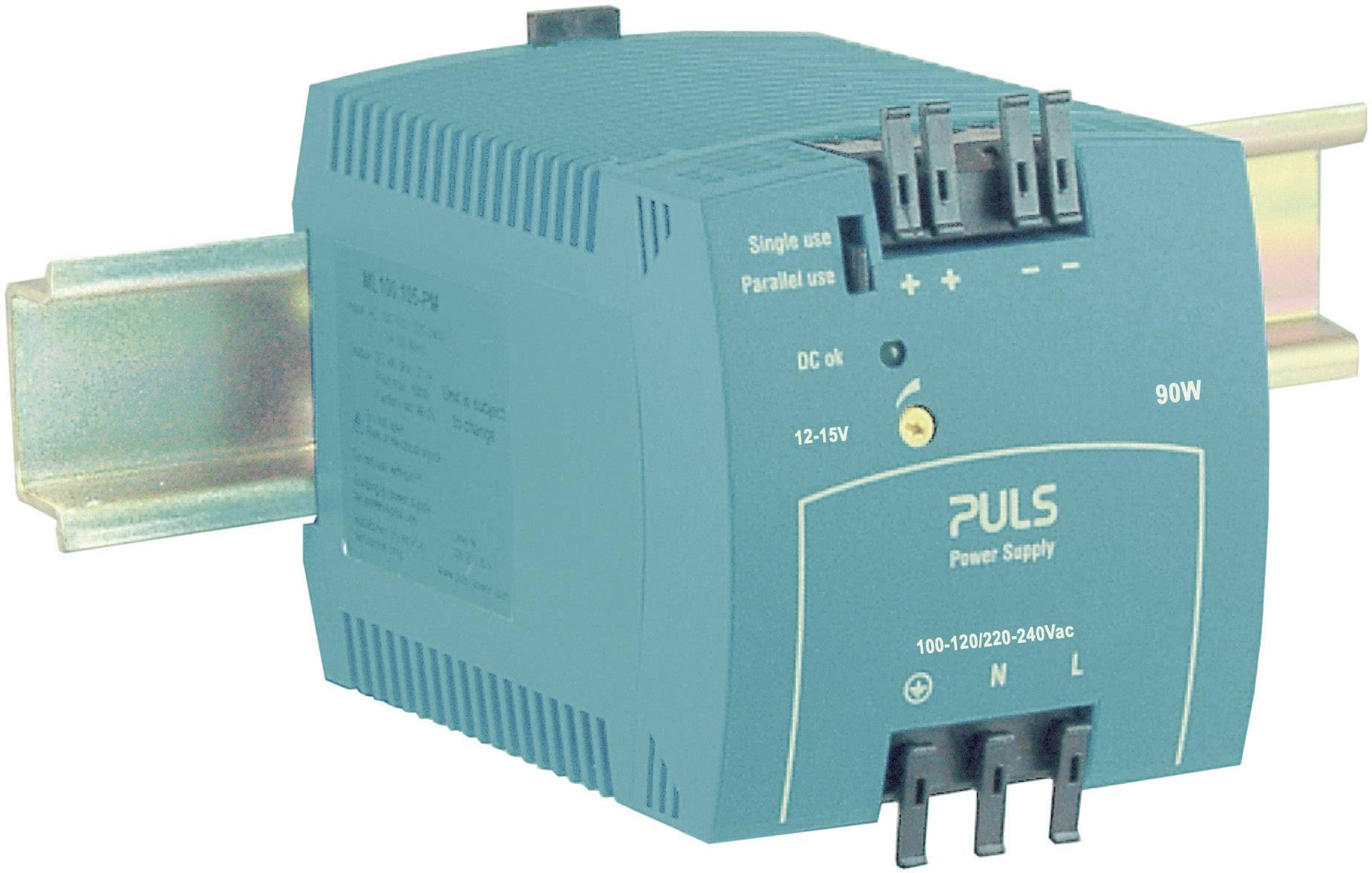 Sieťový zdroj na montážnu lištu (DIN lištu) PULS MiniLine ML100.105, 1 x, 48 V/DC, 2.1 A, 100 W