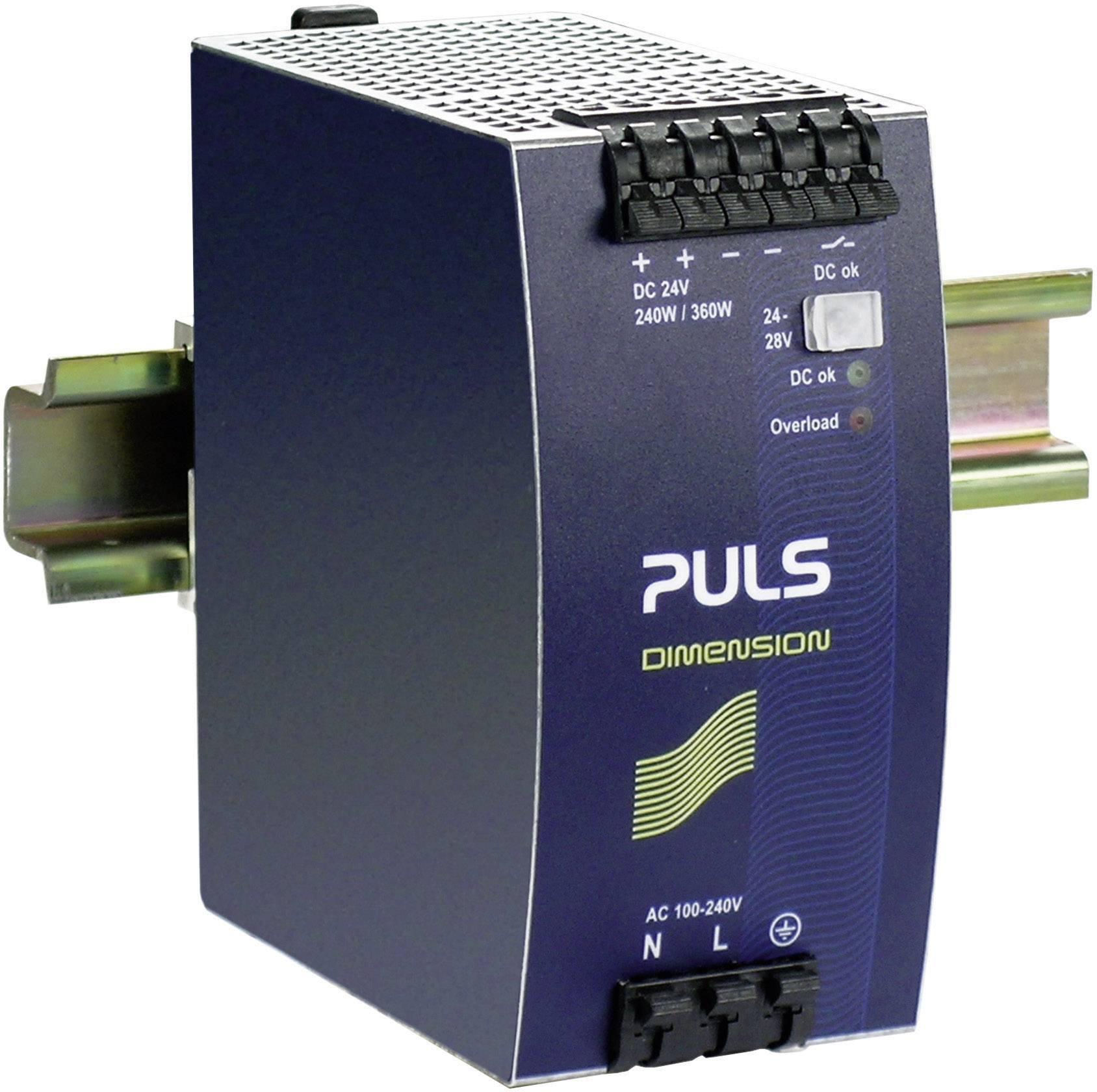 Zdroj na DIN lištu PULS Dimension QS10.241, 10 A, 24 V/DC