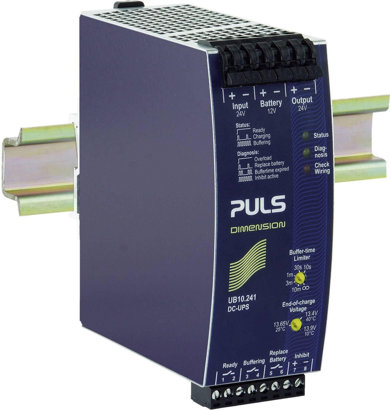 Řídicí jednotka PULS DIMENSION UB10.241 DC-USV na DIN lištu