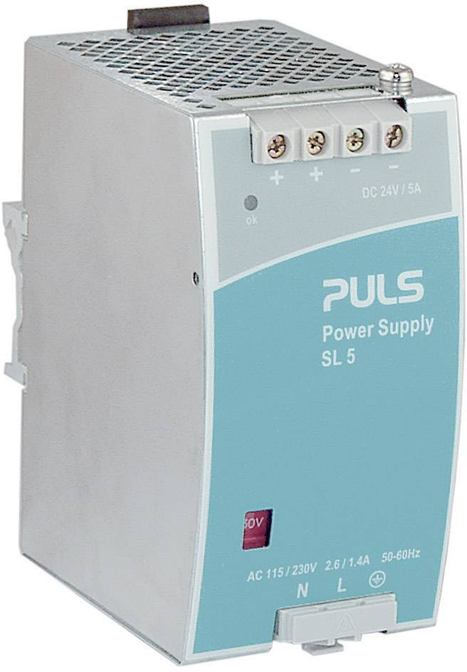 Zdroj na DIN lištu PULS SilverLine SL2.100, 2,5 A, 24 V/DC