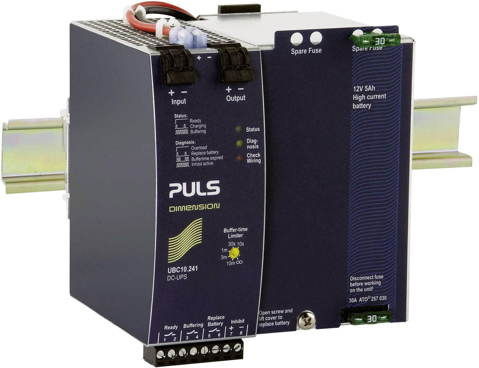 Řídicí jednotka PULS DIMENSION UBC10.241 DC-USV na DIN lištu