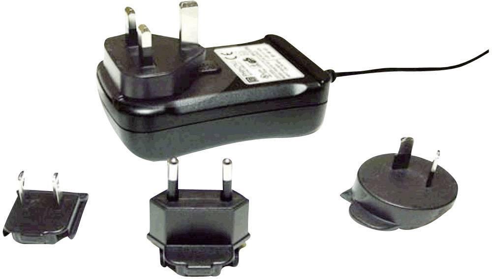 Síťový adaptér s redukcemi Phihong PSAM30R-240, 24 V/DC, 30 W