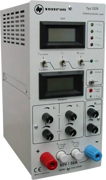 Elektronická záťaž Statron 3229.0, 1 - 80 V / 5 mA - 50 A / 0 - 400 W