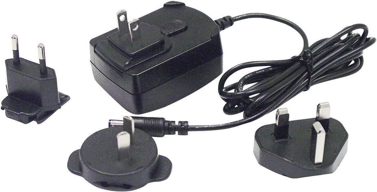 Síťový adaptér s redukcemi Phihong PSC12R-050, 5 V/DC, 12 W