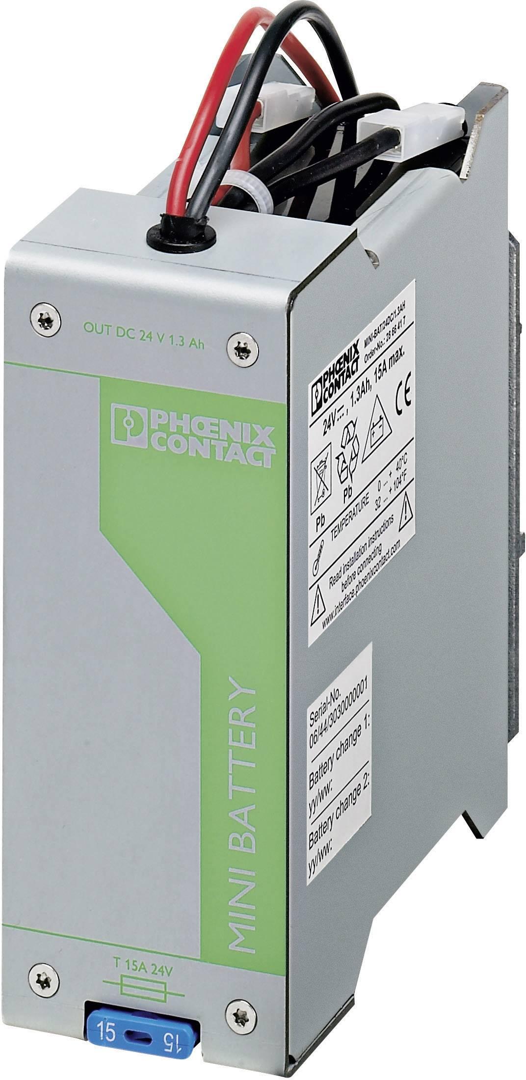 Úložisko energie Phoenix Contact MINI-BAT/24DC/1.3AH 2866417