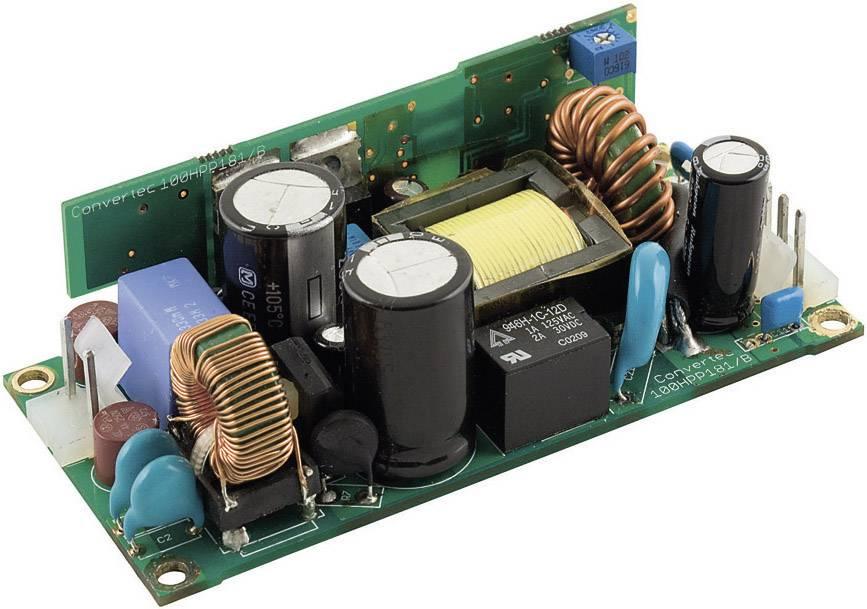 AC/DC vestavný zdroj, open frame TracoPower TOP 100-124, 24 V/DC, 4.2 A, 100 W