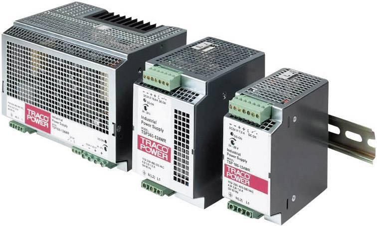 Sieťový zdroj na montážnu lištu (DIN lištu) TracoPower TSP 360-124WR, 1 x, 24 V/DC, 15 A, 180 W
