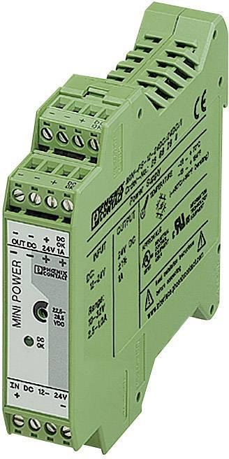 Zdroj na DIN lištu Phoenix Contact MINI-PS-12-24DC/24DC/1, 1 A, 24 V/DC