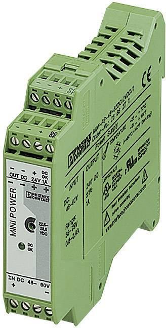Zdroj na DIN lištu Phoenix Contact MINI-PS-48-60DC/24DC/1, 1 A, 24 V/DC