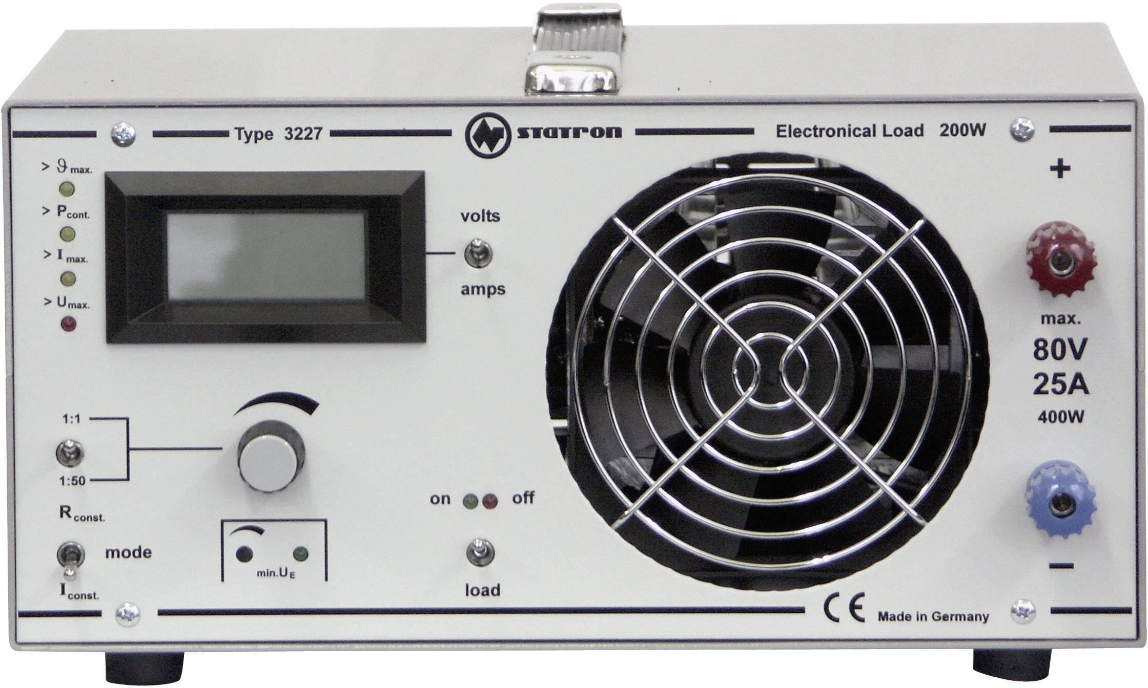Elektronická záťaž Statron 3227.1, 1 - 80 V/DC/5 mA - 25 A