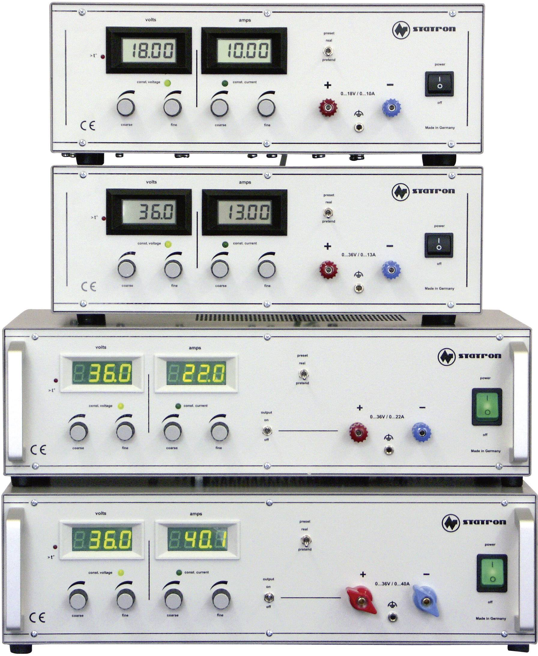Lineárny laboratórny zdroj Straton 3250.0, 0 - 18 V, 0 - 10 A