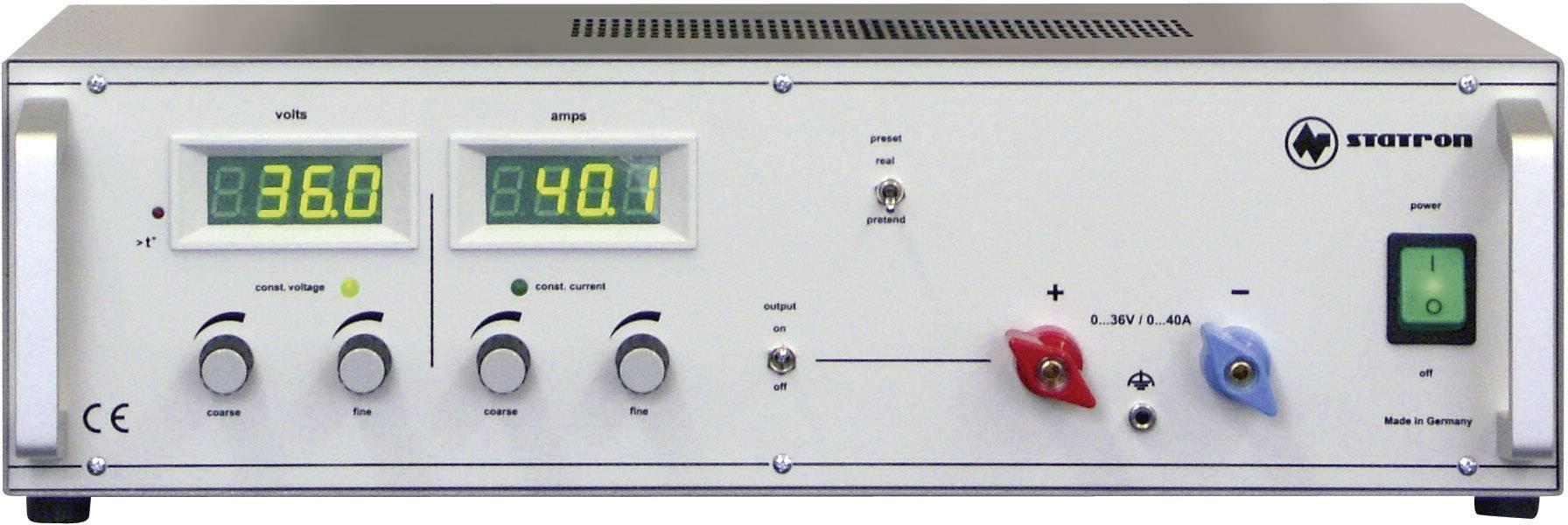 Lineárny laboratórny zdroj Straton 3256.1, 0 - 36 V, 0 - 40 A